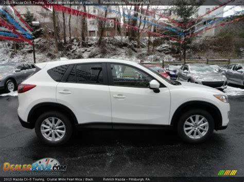 2013 Mazda Cx-5 Touring Crystal White Pearl Mica / Black