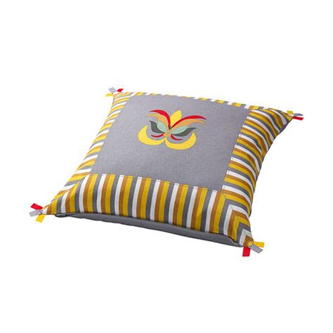 Kissen Ikea by Ikea Akerkulla Pillow Cover Sham Cushion Cvr Yellow Gray