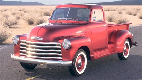 Chevrolet Model by 3d Model Chevrolet 1950