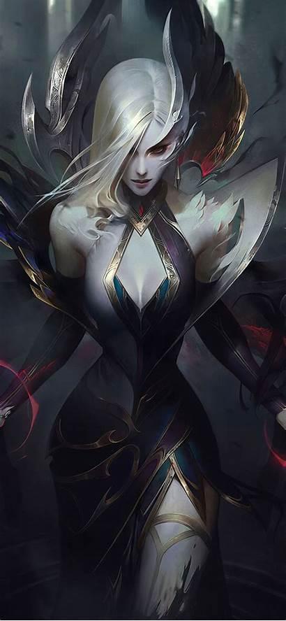 Morgana Coven 4k Legends League Lol Iphone