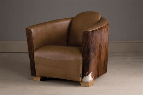 Cowhide Furniture Uk by The Snug Cowhide Chair Handcrafted By Indigo Furniture