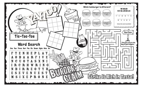 activity sheets printable activity shelter