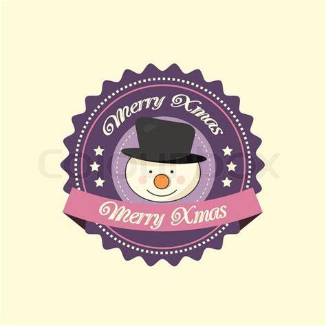 cute christmas etikett weihnachten vektorgrafik