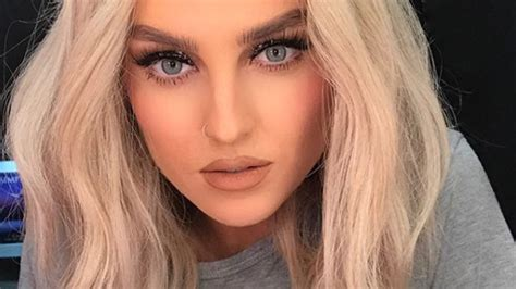 Perrie Edwards Debuts Pink Mermaid Hair J 14