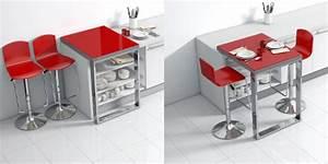 Plan De Travail Pour Bar : une table bar modulable qui se glisse sur votre plan de ~ Dailycaller-alerts.com Idées de Décoration