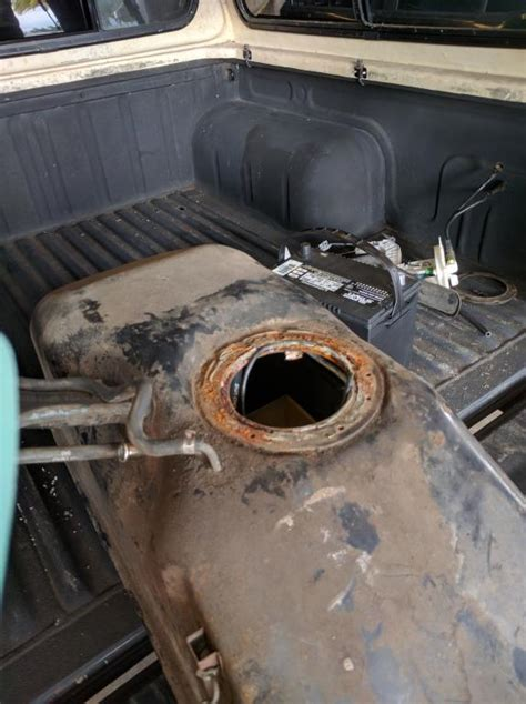 Nissan Frontier Gas Tank Rusted Complaints