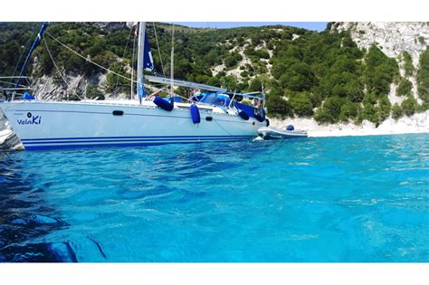 Sailing Boat Kefalonia by Velaki Well Being Sailing Ionian Greece All Inclusive
