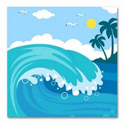 Clipart Ocean Surface Clip Wave Sea Transparent