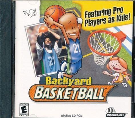 backyard basketball characters 3d basketball