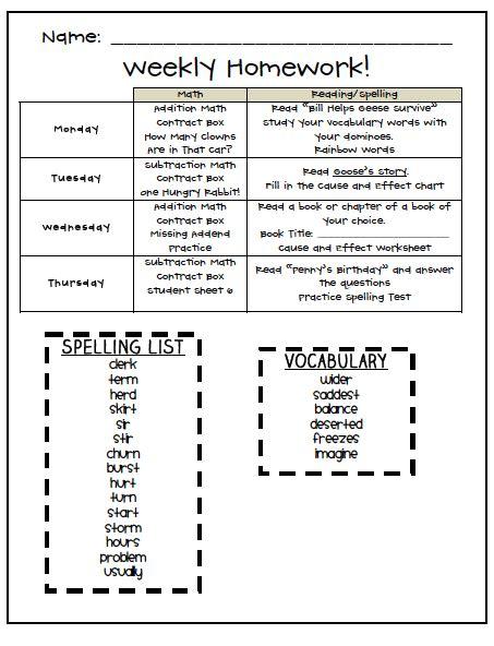 homework templates word excel  templates