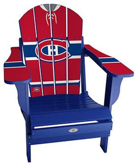 montreal canadiens custom sports chair
