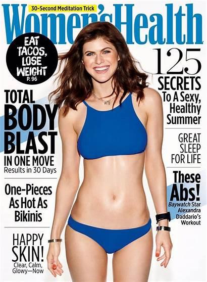 Daddario Alexandra Health Baywatch Magazine Womens Issue