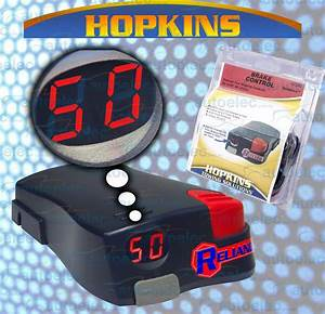 Hopkins Reliance Electric Brake Controller Caravan 4wd