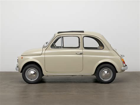 Original Fiat 500 by The Moma Acquires An Original Condition 1968 Fiat 500