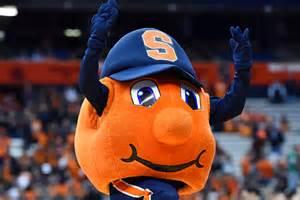 Otto Orange Syracuse Mascot