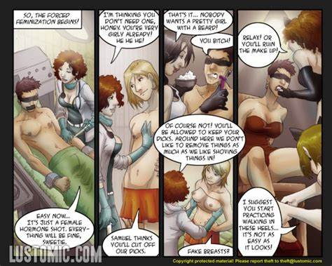 Something You Forced Never Forget Dream Feminization Comics & Video : Lustomic