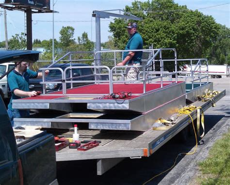 Mini Pontoon Boats For Sale In Iowa by Diy Mini Pvc Pontoon Floats Hdpe Floating Pontoon Float