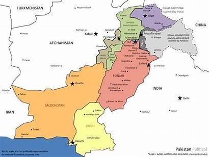 Pakistan Map Political Urbanduniya Holidaymapq