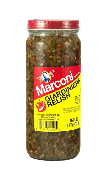 Giardiniera Relish  Marconi Foods