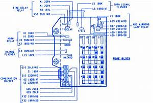 89 Dodge Dakota Fuse Box Diagram