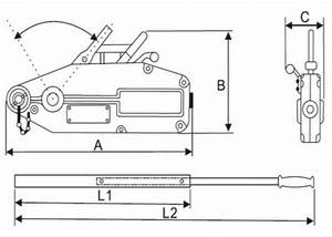0 8t Tirfor Cable Puller   Manual Lever Winch With 20m