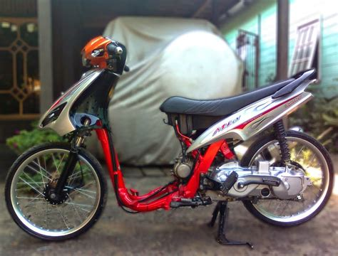 Mio Soul Modifikasi Warna by Modifikasi Mio Soul Gt Warna Merah Thecitycyclist
