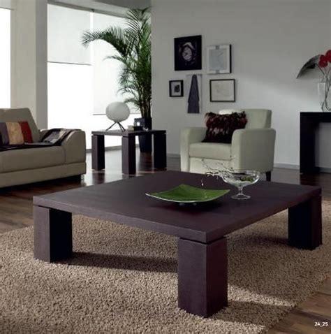 mesa de centro de madera oscura   pies mesas de centro