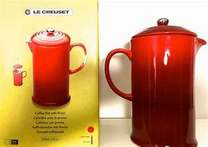 French Press Kanne : le creuset kaffeebereiter im test steingut french press ~ Orissabook.com Haus und Dekorationen