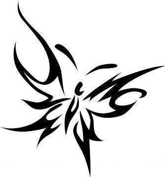 tribal butterfly tattoo ideas  pinterest sea life tattoos mermaid tattoo designs