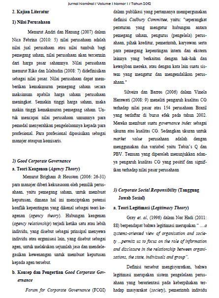 contoh jurnal skripsi manajemen contoh ii
