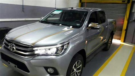 Toyota Hilux Photo by 2016 Toyota Hilux Interior And Exterior Leaked Photos 1