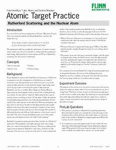 Atomic Target Practice  Rutherford Scattering And The