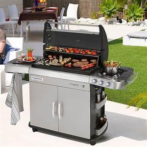 Barbecue Gaz Et Charbon : barbecue a gaz et plancha barbecue plancha et feux au gaz ~ Dailycaller-alerts.com Idées de Décoration