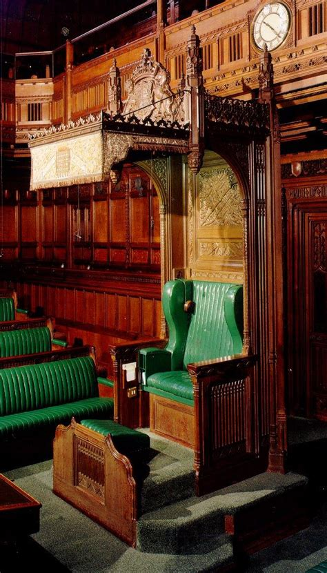speakers chair uk parliament