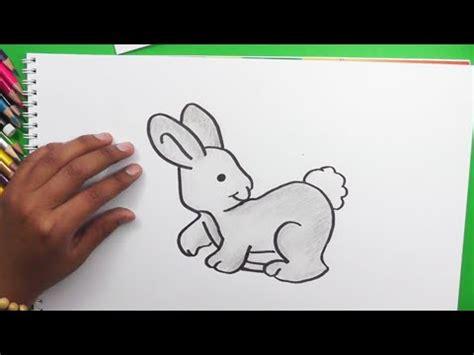 dibujando  pintando conejo drawing  painting rabbit youtube