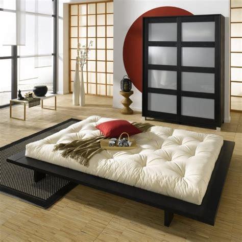 chambre style japonais quel linge de lit pour votre futon japonais