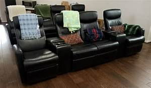 Seats Sofas : review flash furniture 4 seat black leather home theater recliner with storage consoles ~ Eleganceandgraceweddings.com Haus und Dekorationen