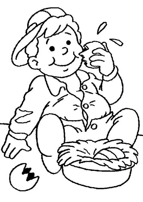 jeux de cuisine gratuit de coloriage paques enfants à colorier allofamille