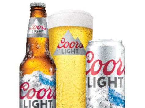 what is the content of coors light calories in a pint of coors light