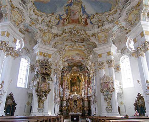 romantische strasse wieskirche innen