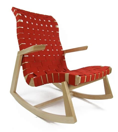 wooden modern rocking chair for nursery plushemisphere