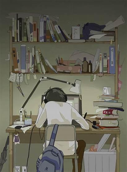 Aesthetic Anime Sleep Gambar Wallpapers Scenery Never