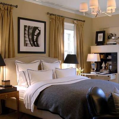 yellow curtains contemporary bedroom david jimenez
