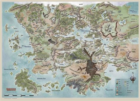 Faerûn  Forgotten Realms Wiki  Fandom Powered By Wikia