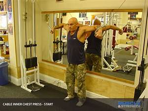 Cable Inner Chest Press  Video Exercise Guide  U0026 Tips