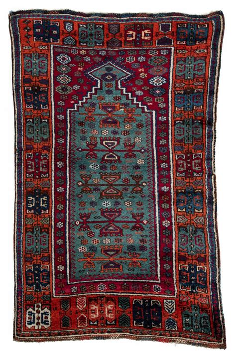 Prayer Rug by Antique Turkish Yoruk Prayer Rug 3 0 Quot 215 4 10 Quot