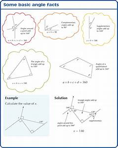 Working With Angles And Polygons Including Complementary