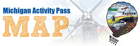 map michigan activity pass monroe county library system