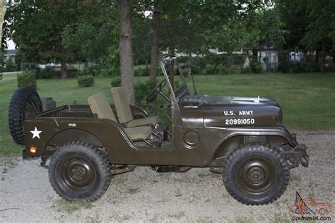 military jeep willys for sale 1952 m38a1 willys military jeep