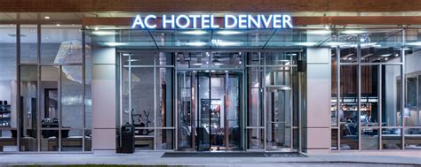 modern hotel in denver ac hotel denver downtown